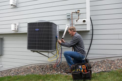 red wing minnesota air conditioning repair man